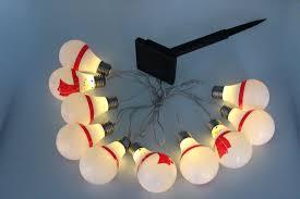 Light Up Snowman Outdoor Solar Outdoor 10 Snowman U0026 Snowball String Lights For Christmas