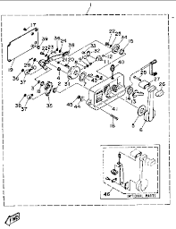yamaha throttle control diagram yamaha 704 remote control manual