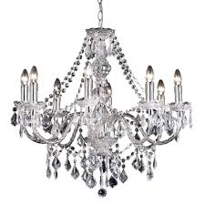 Clear Acrylic Chandelier Endon 308 8cl Clarence 8 Light Clear Acrylic Chandelier Pendant