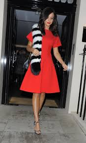 lucy mecklenburgh leaves the haymarket hotel in london 10 21 2015