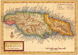 Map Jamaica Old Map Is A New Map Novicecartography197