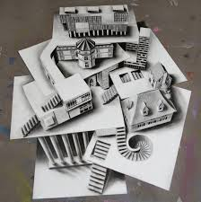 extremely superb optical illusion drawing amazing