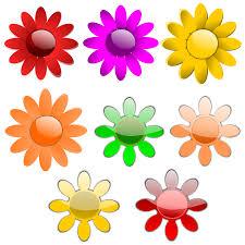 free printable stencil patterns flower clip art vector clipartix