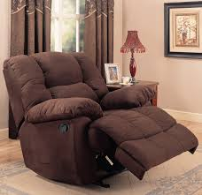 Living Room Sets Bob Mills Rocker Recliner In Chocolate Microfiber Co 259 Recliners