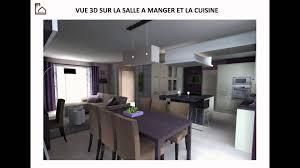 cuisine ouverte sur s駛our innovant decoration salon sejour cuisine ouverte d coration cour