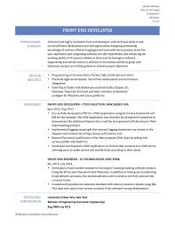 sharepoint sample resume developers agile developer sample resume cisco network administrator cover front end developer sample resume resume for your job application how to write a front end