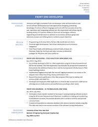 sample resume for sql developer agile developer sample resume cisco network administrator cover front end developer sample resume resume for your job application how to write a front end