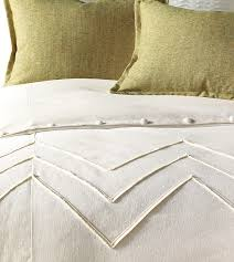 Eastern Accents Furniture Bedroom Savannah White Duvet Cover Queen With Tufted Headboard