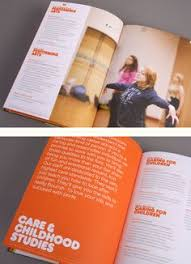 palmers college prospectus by tangerine via behance