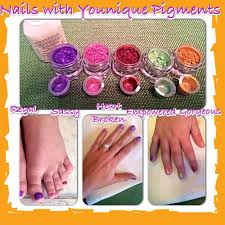 custom nail polish party for my daughter with younique pigments