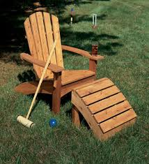 Adirondack Chair With Ottoman Adirondack Chair Ottoman Table Woodsmith Plans