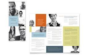 tri fold brochure publisher template bank tri fold brochure template word publisher