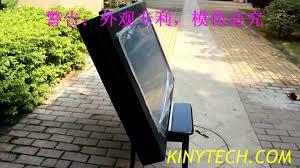 high end outdoor tv enclosure outdoor lcd enclosure outdoor tv