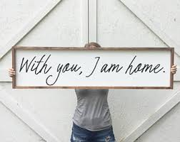 A M Home Decor With You I Am Home Etsy