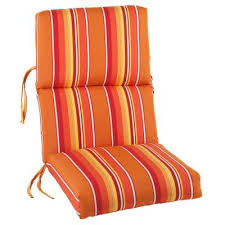 High Back Patio Chair Cushion Outdoor Seat And Back Chair Cushions Gccourt House