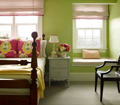 Green Walls What Color Curtains Apple Green Walls Design Ideas
