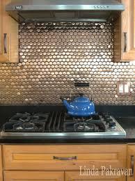 copper tile backsplash for kitchen kitchen interactive small kitchen decoration using mosaic copper