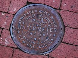 new orleans water meter cover times picayune william pate