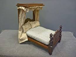 victorian tester canopy doll bed from antiquesonhanover roll over large image magnify click zoom