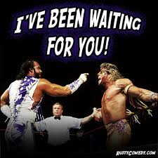 Ultimate Warrior Meme - rusty rutherford comedy home ultimate warrior will finally get