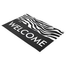 Wipe Your Paws Doormat Zazzle Animal Print Doormats U0026 Welcome Mats Zazzle