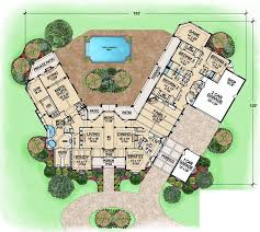 monster floor plans country style house plans 6610 square foot home 1 story 4