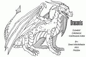 cool fire dragon coloring pages coloring