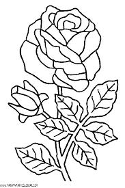 imagenes para colorear rosas dibujos para colorear de rosas 007