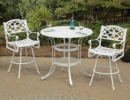 White Pub Table Set - best white bistro table and chairs ashley d583 whitesburg square