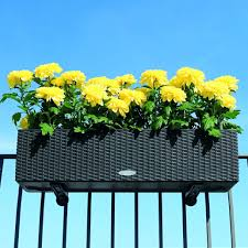 efecin resin planter box long planter boxes planter with