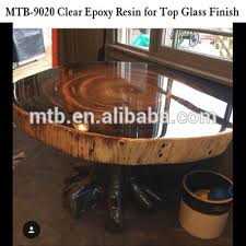 epoxy table top resin top glass epoxy resin for wood table and furnitures view good
