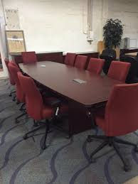 Mahogany Conference Table 10 Foot Mahogany Boat Shape Conference Table Direct Office Solutions