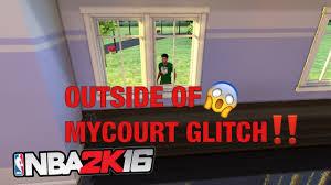 Nba Map Nba 2k16 Mycourt Out Of Map Glitch Youtube