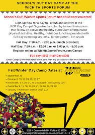 thanksgiving day sports camps u0026 clinics wichita sports forum