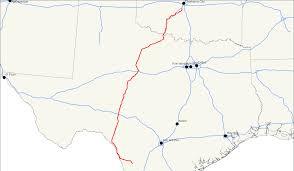 San Angelo Tx Map U S Route 277 Wikipedia