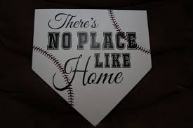 Home Plate Baseball There U0027s No Place Like Home Baseball Homeplate Plaque