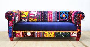 sofa patchwork stunning handmade bohemian armchairs and sofas