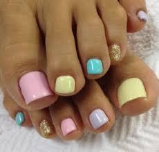 uas de gelish decoradas nails pies decorados colores pastel gelish uñas pinterest