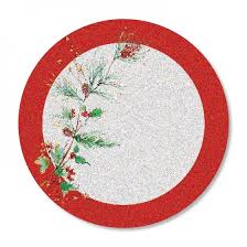 plate 8ct lenox winter song