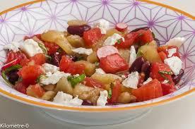 recette cuisine d été salade de crudités d été aux haricots rouges kilometre 0 fr