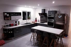cuisine en annonay réalisations grande cuisine équipée avec îlot de cuisines avec socoo c
