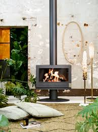 invicta french made cast iron stoves oblica designer fireplaces