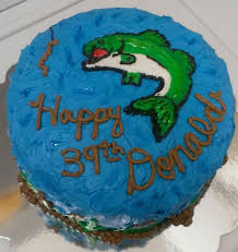 bass fish cake ideas 77005 fish cake bass buttercream fish