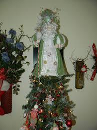 santa christmas tree toppers christmas lights decoration