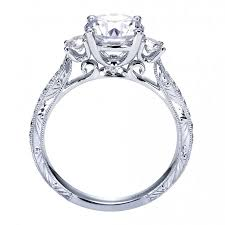 setting engagement rings images Style three stone engagement ring setting er7290w44jj jpg