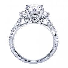 setting engagement rings images Style three stone engagement ring setting er7290w44jj jpg