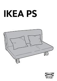 Two Seater Sofas Ikea Ikea Ps Håvet Two Seat Sofa Bed Vansta Red Ikea United Kingdom
