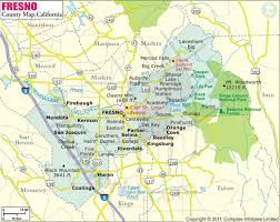 map of fresno fresno county map map of fresno county california