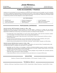 Accounts Receivable Resume Objective Examples by Example Of Accounting Resume Resume For Your Job Application