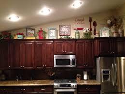 Kitchen Cabinet Decor Vibrant Creative   Best Top Of Cabinets - Kitchen cabinet decor